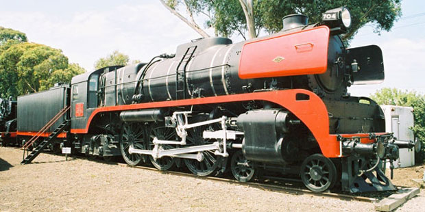 British built locomotive from mid-20th century