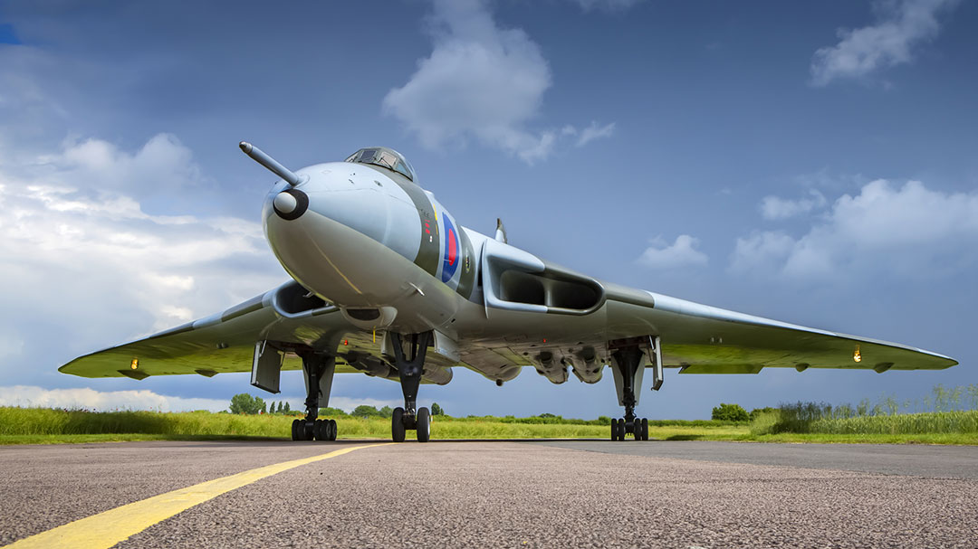 Avro Vulcan Bomber on Taxiway