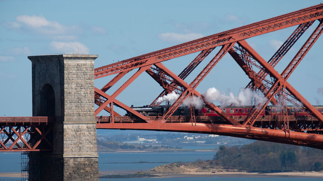 Steam And The Forth Bridge