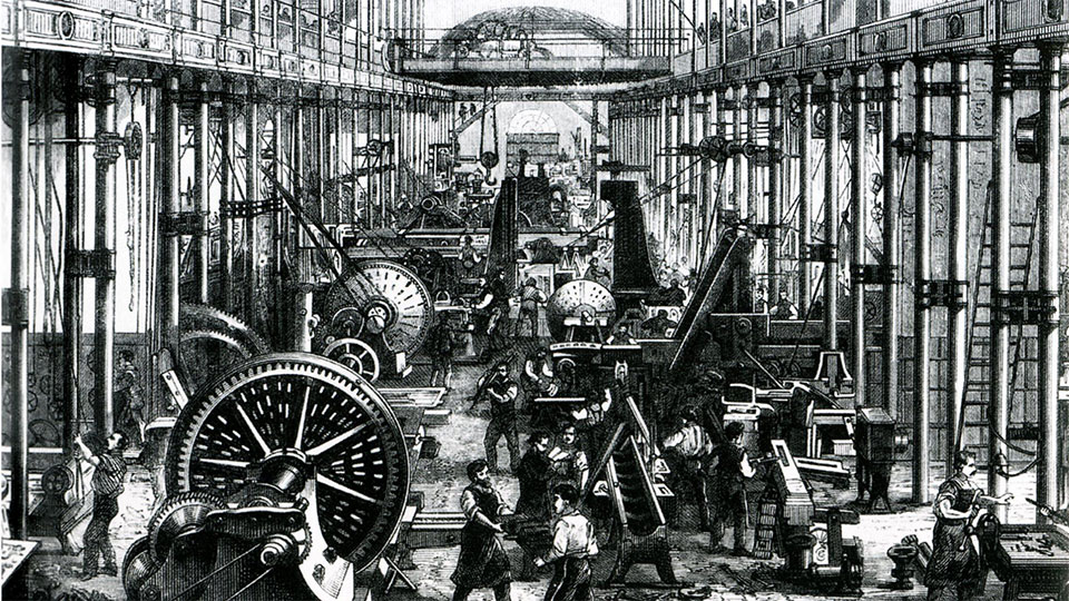 The Age of Machinery – Engineering in the Industrial Revolution
