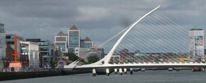 Dublin Port Diving Bell & Samuel Beckett Bridge