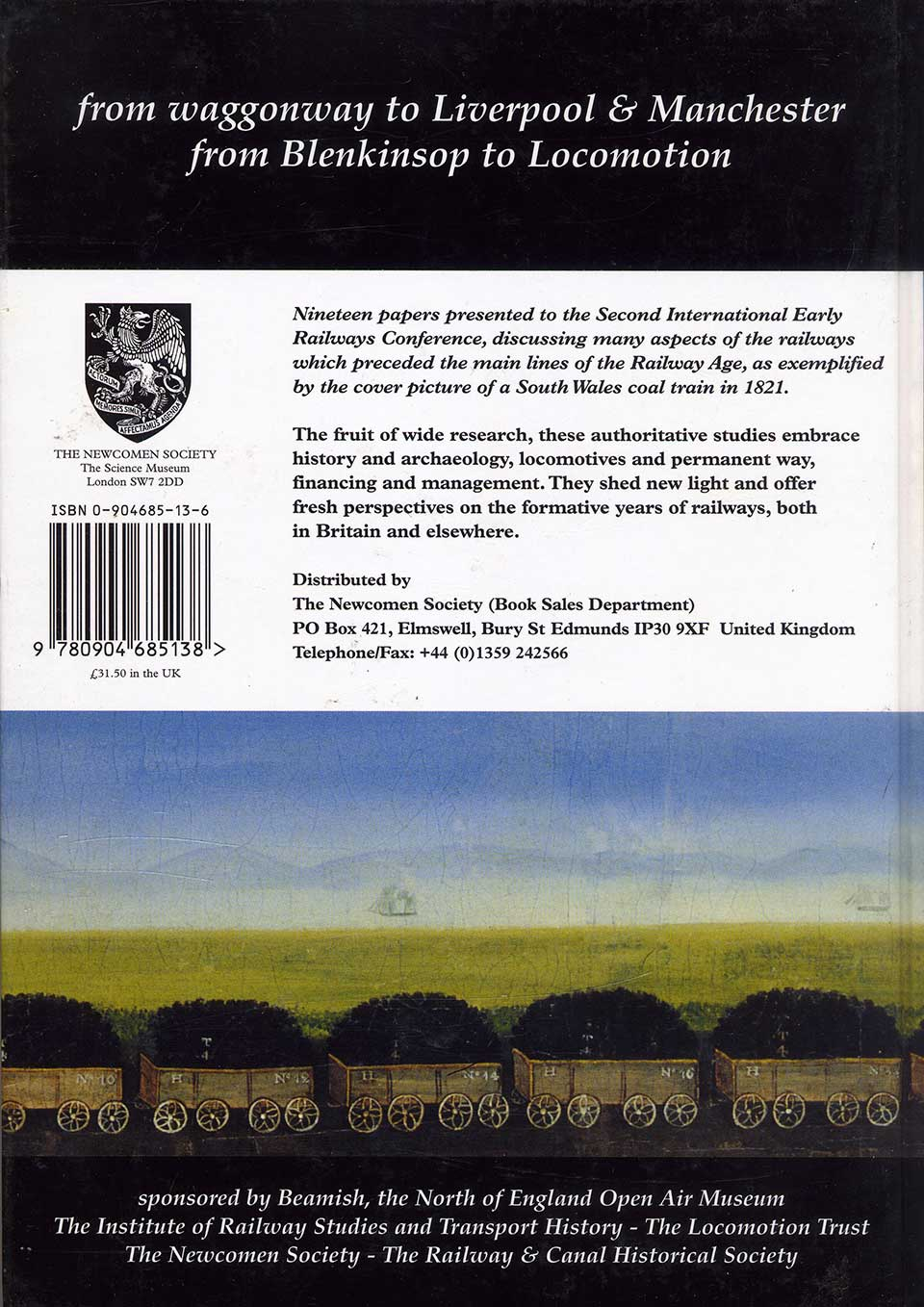 Early Railways 2 - back cover