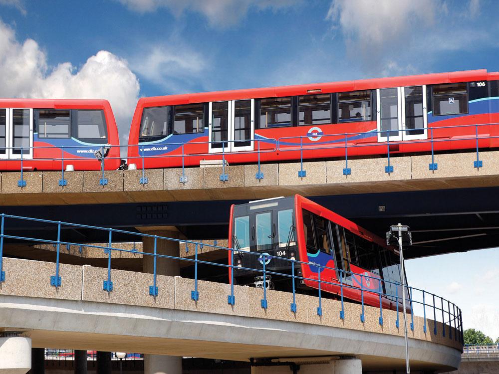 Development of Rail Transport - London Docklands