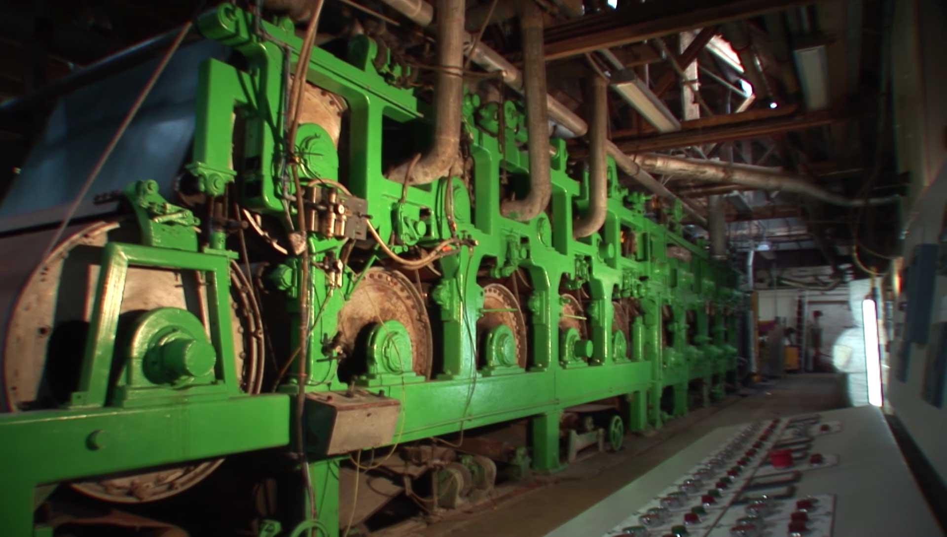 Mechanised Paper Making