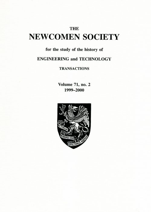 The Journal - V71 No2 1999 to 2000 - cover
