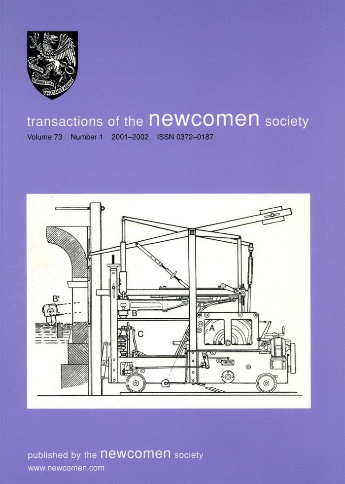 The Journal - V73 No1 2003 - cover