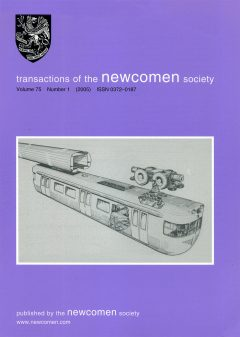 The Journal - V75 No1 2005 - cover