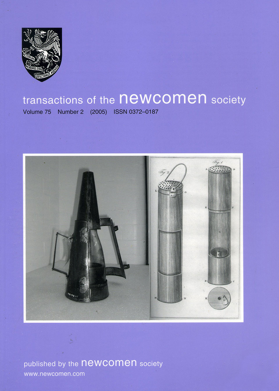 The Journal - V75 No2 2005 - cover
