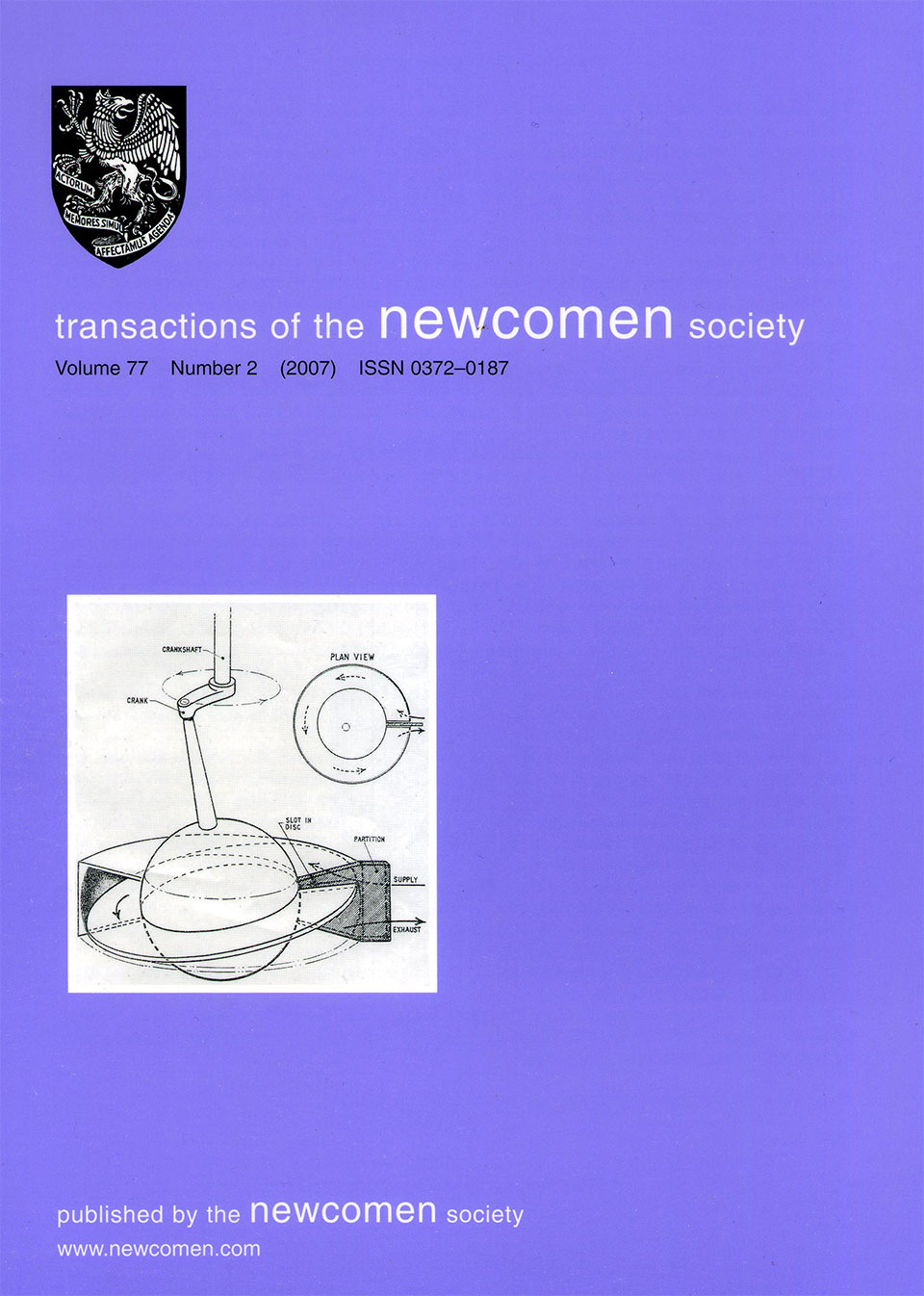 The Journal - V77 No2 2007 - cover