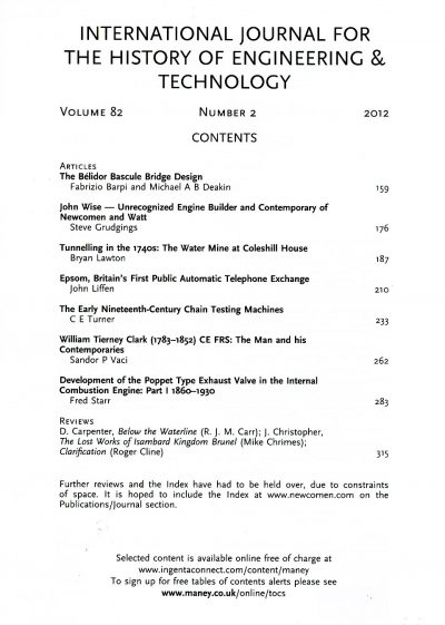 The Journal - V82 No2 2012 - contents
