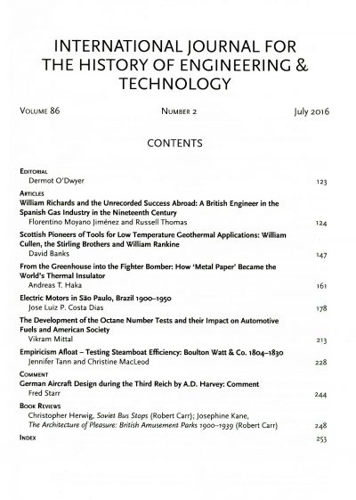 The Journal - V86 No2 2016 - contents