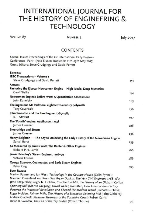 The Journal - V87 No2 2017 - contents