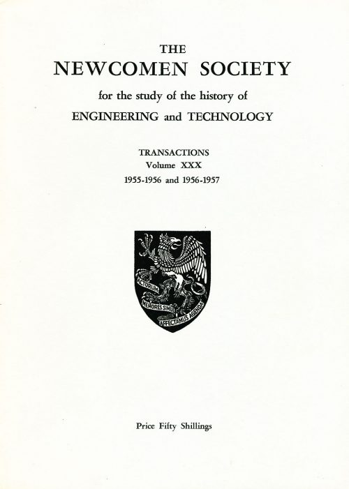 The Journal - V30 No1 1955-57 - cover