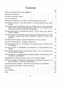The Journal - V35 No1 1962-63 - contents