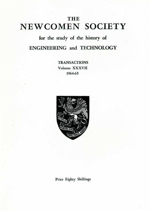 The Journal - V37 No1 1964-65 - cover Paperback