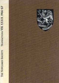 The Journal - V39 No1 1966-67 - cover Hardback