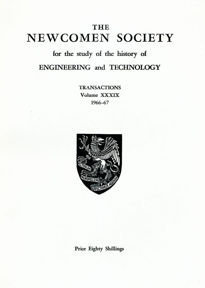 The Journal - V39 No1 1966-67 - cover Paperback