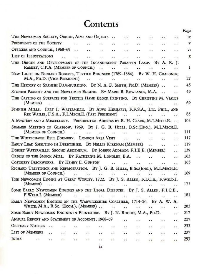 The Journal - V41 No1 1968-69 - contents Hardback