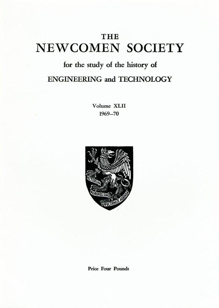 The Journal - V42 No1 1969-70 - cover Paperback