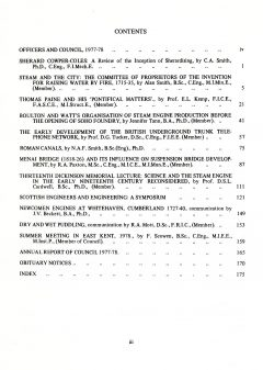 The Journal - V49 No1 1977-78 - contents