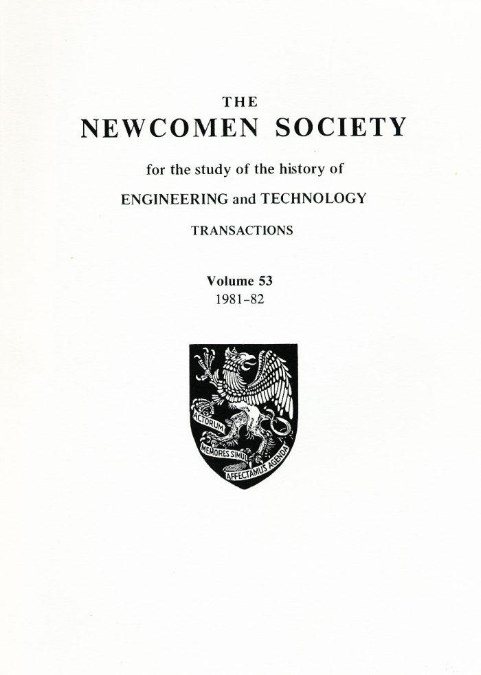 The Journal - V53 No1 1981-82 - cover Paperback
