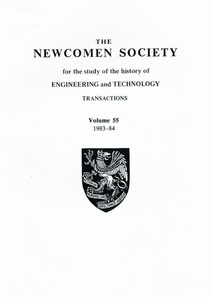 The Journal - V55 No1 1983-84 - cover Paperback