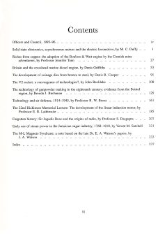 The Journal - V67 No1 1995-96 - contents