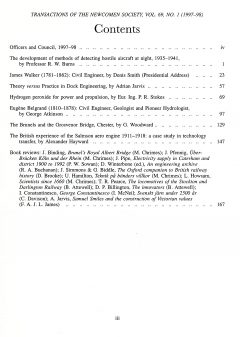 The Journal - V69 No1 1997-98 - contents