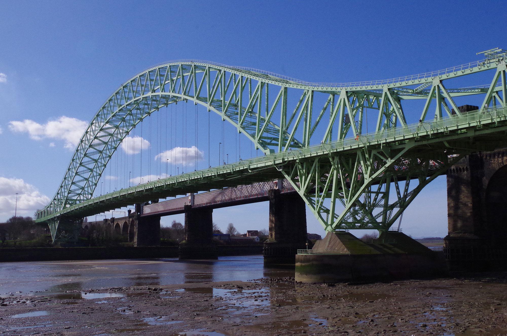 Runcorn Widnes Bridge