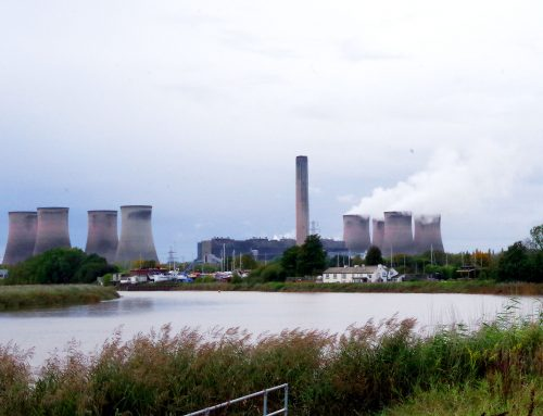 Fiddler's Ferry Power Station Plays Out
