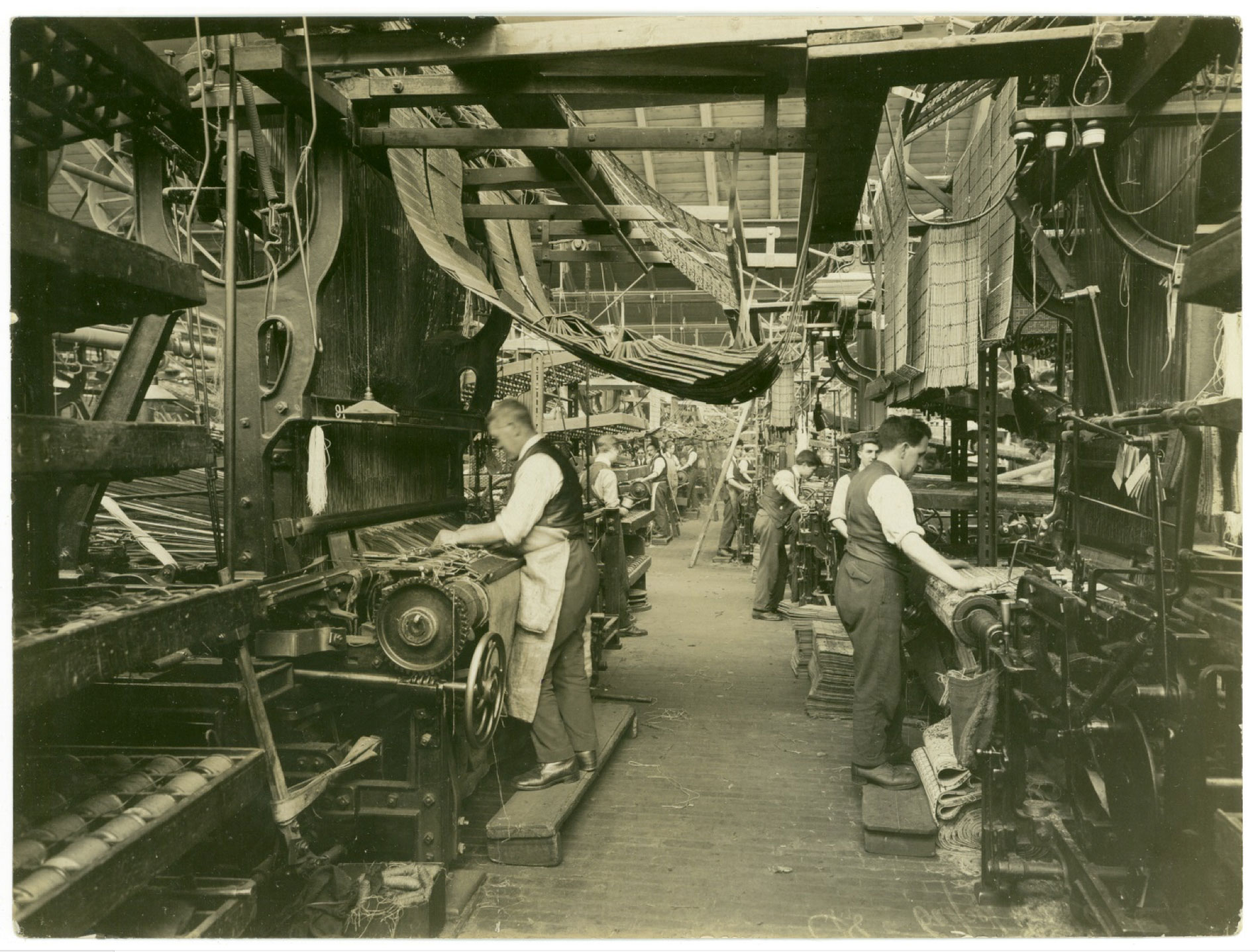 Newcomen Society - Jacquard Weaving, Carpet Trades 1923