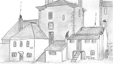 James Watt's Gorbals Courtyard