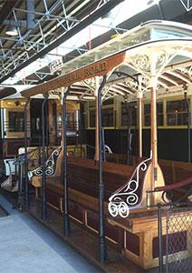 Cable Tram Dummy Melbourne - The Powerhouse Museum, Sydney