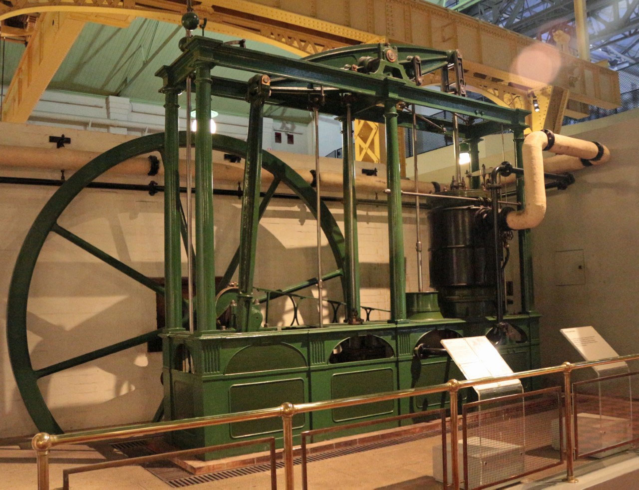 Powerhouse Museum Sydney - Maudslay Beam Engine