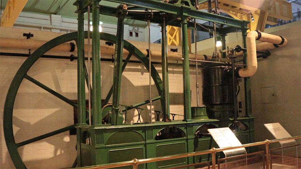 Maudslay Beam Engine - The Powerhouse Museum, Sydney