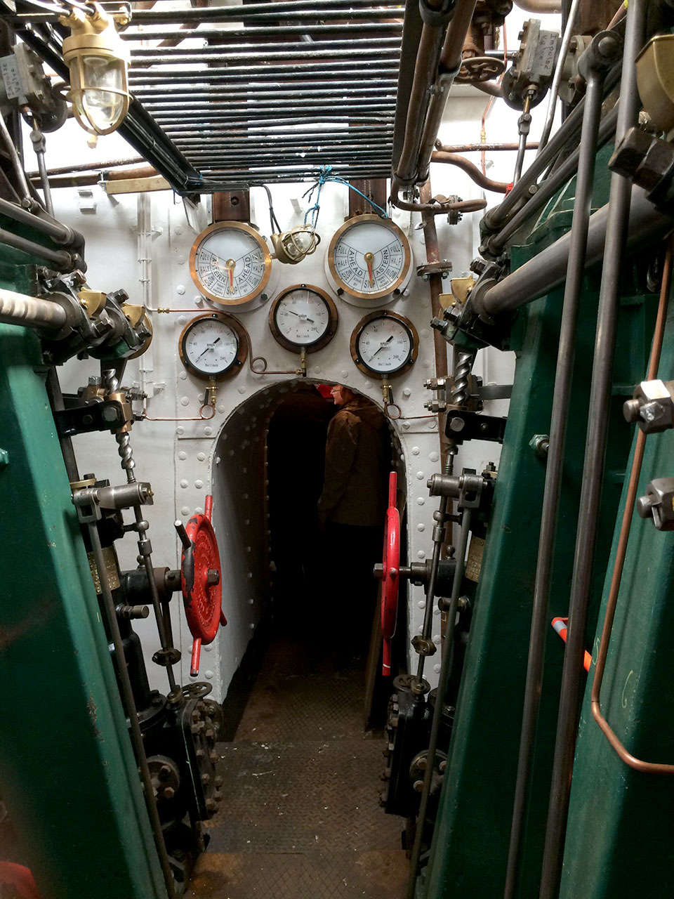 The Danny's Engine Room - Not Made For Social Distancing!