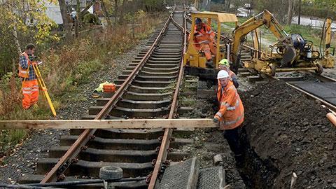 Volunteers Build Corwen Station Llangollen