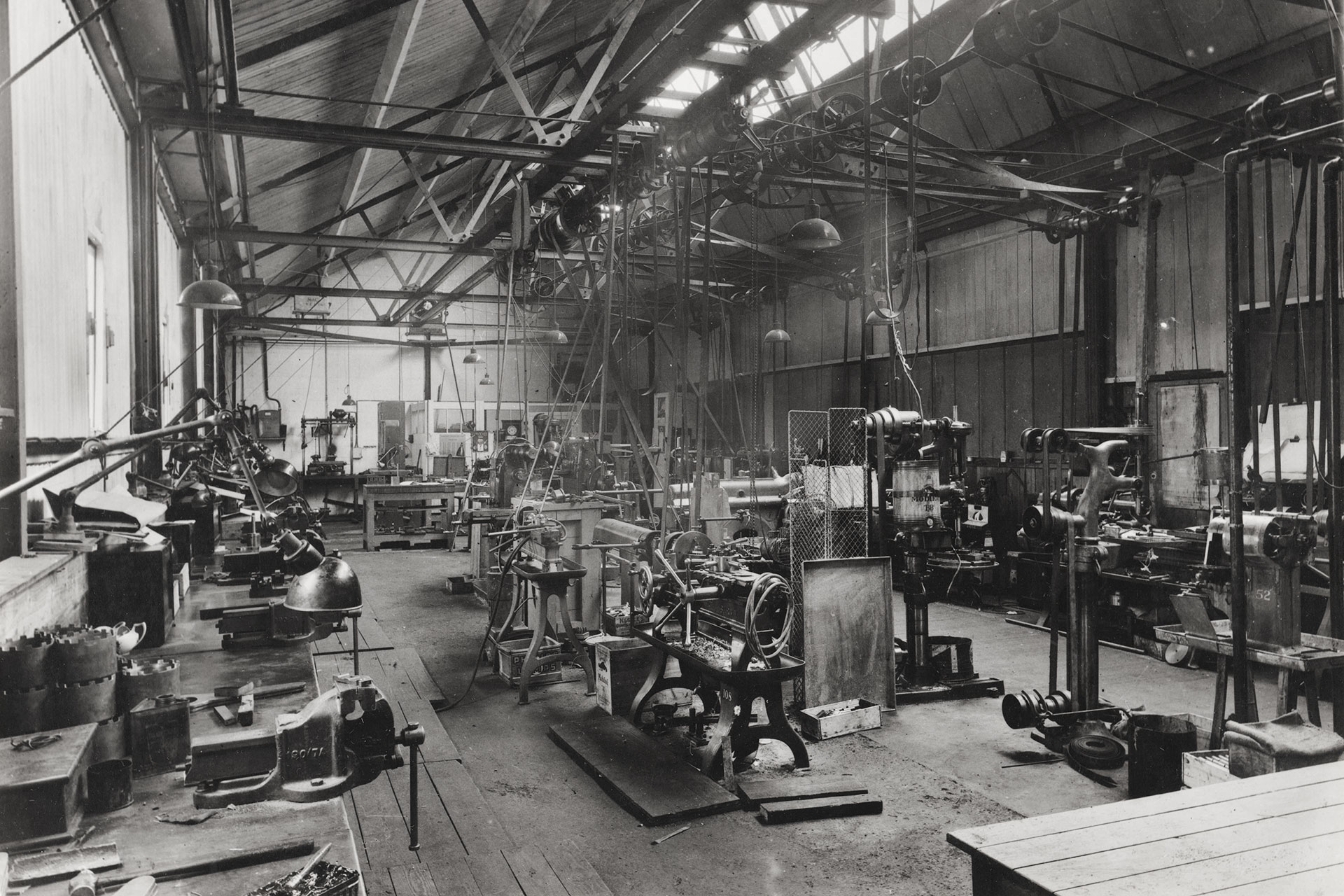Willcocks Engineering Shop in the 1920s