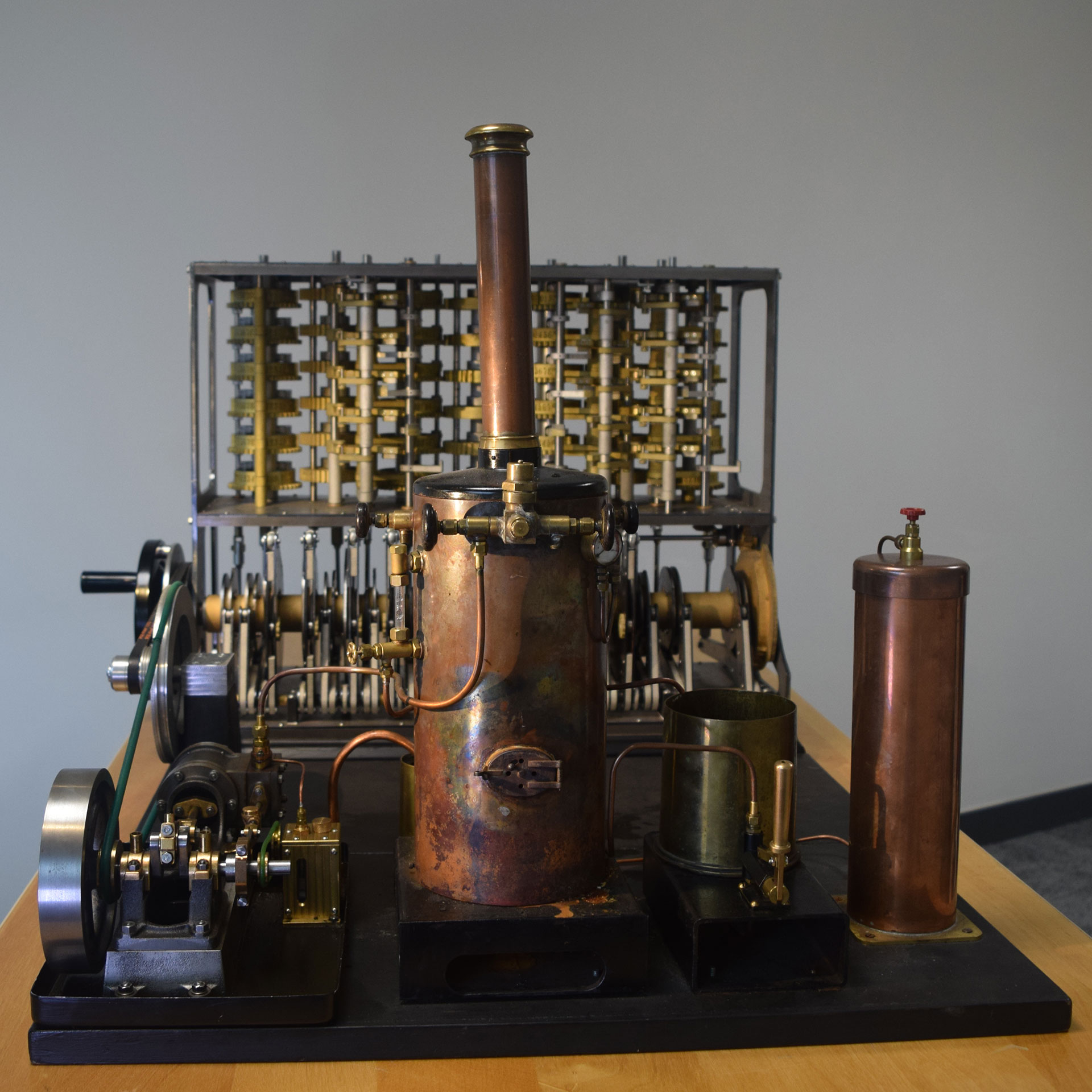 Original Babbage Difference Machine (steam) - photo credit: Adrian Johnstone