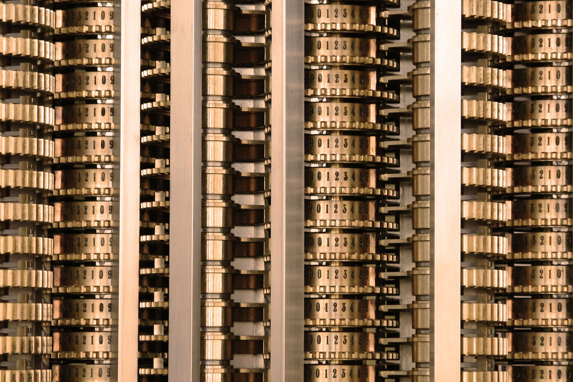 Babbage Difference Engine (Counter Detail)
