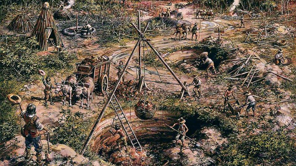 History of Wealden Iron