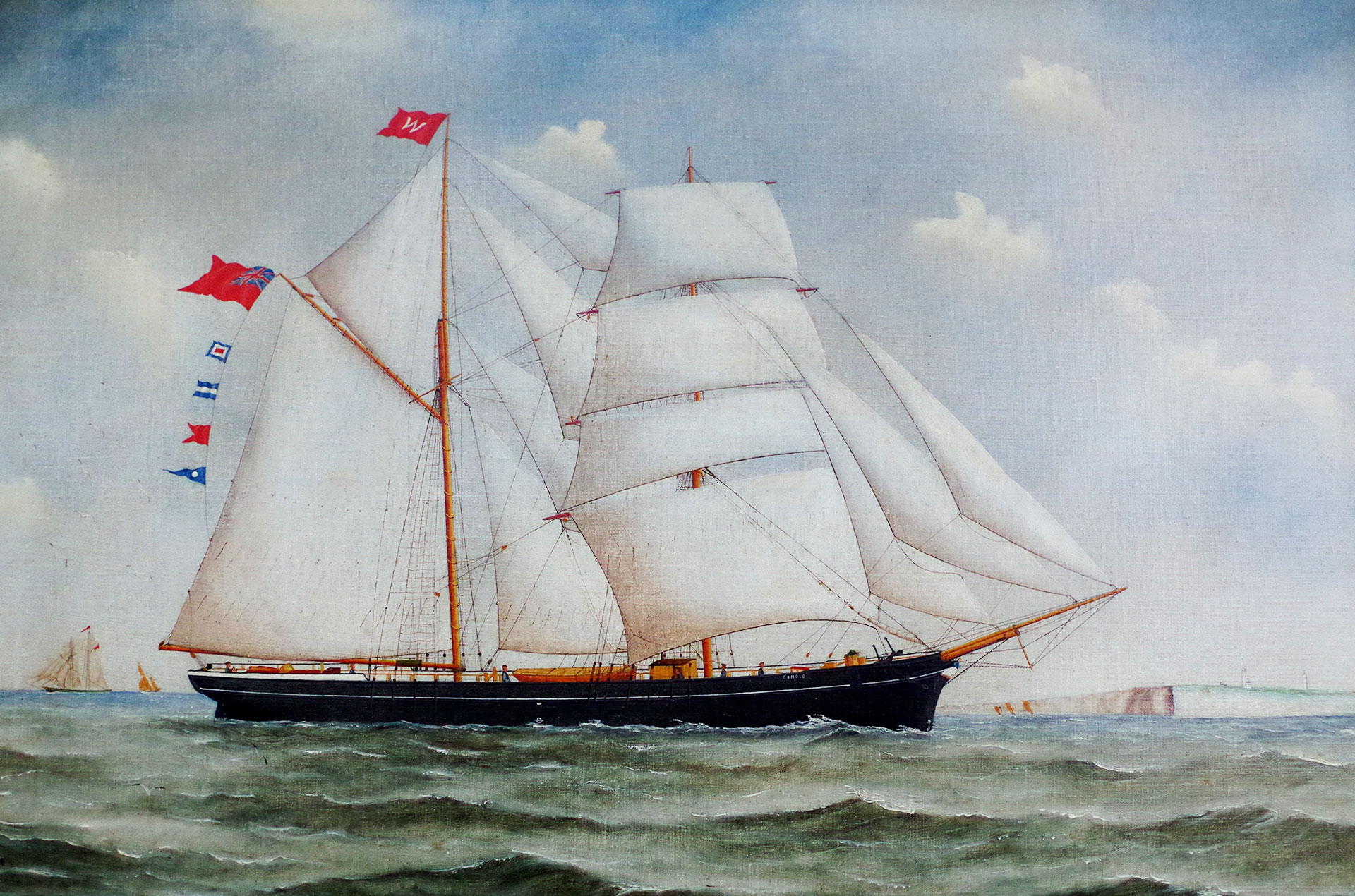 Brigantine Conoid - Whitstable Shipping Company - © Jonathan Aylen