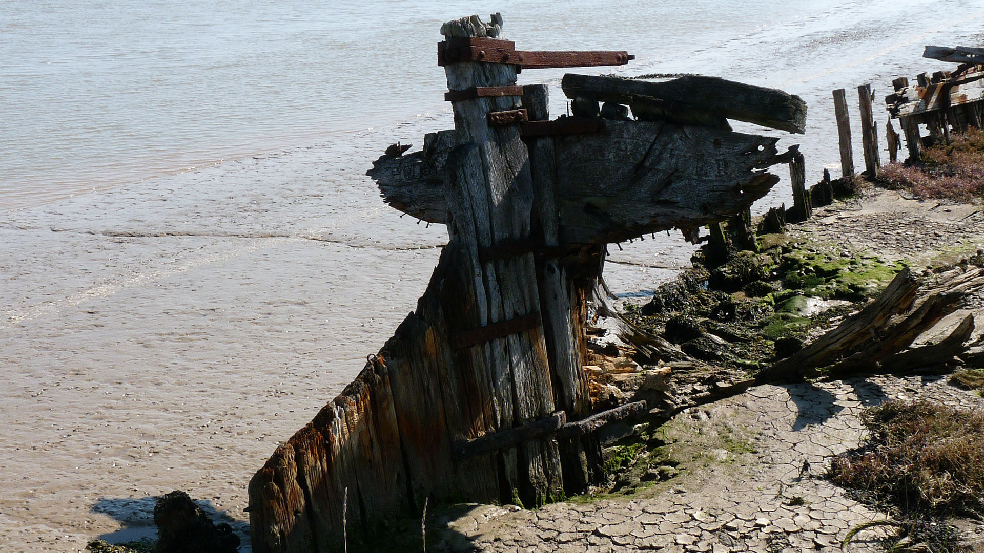 The Demise Of Sail - Barge At Orfordness