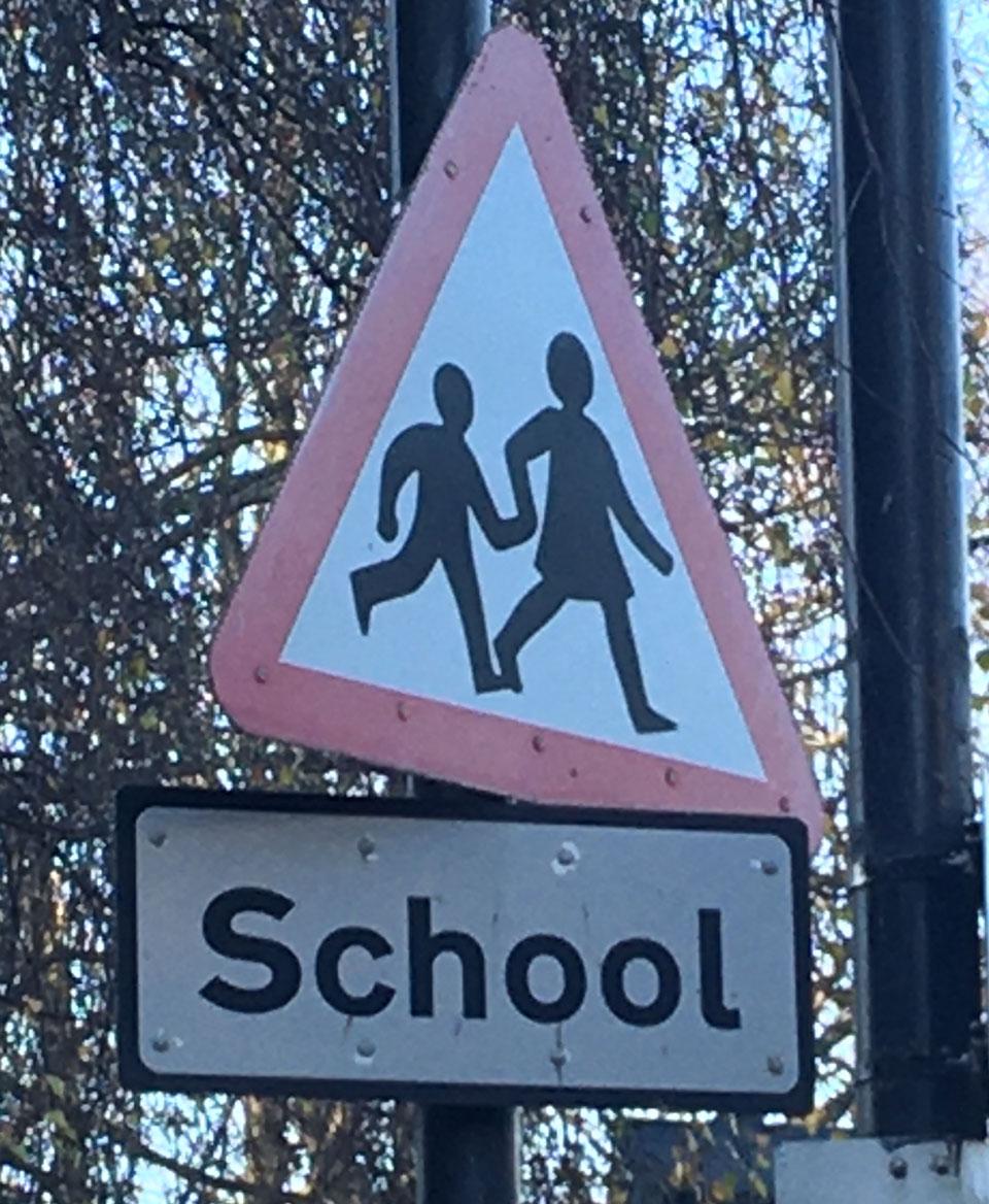 UK Road Signs - Children Crossing